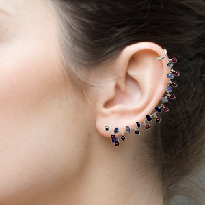 Designer Cuff Earrings