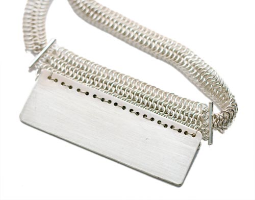 Back of the necklace