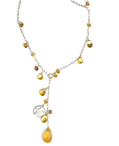 Juicy Citrine Necklace