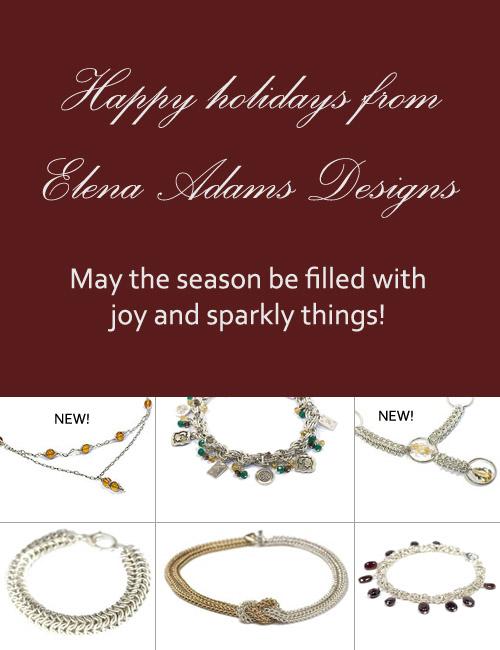 Happy holidays from Elena Adams Designs