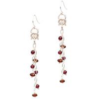 Design a Pair of Byzantine Garnet Earrings